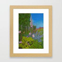 Chichester Bishops Palace Gardens Framed Art Print