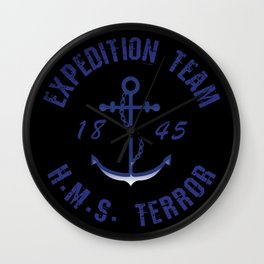 The Terror - Expedition Team Wall Clock