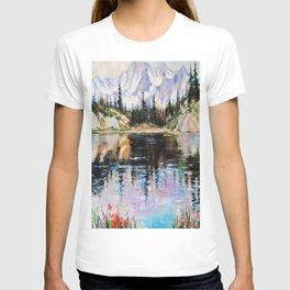 Landscape above the river T-shirt