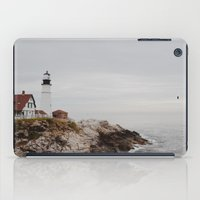maine iPad Cases featuring Maine lighthouse by Zak Patterson