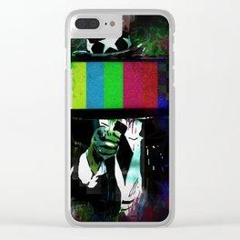 Uncle Brainwash Clear iPhone Case