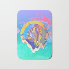 Psychedelic Clouds Bath Mat
