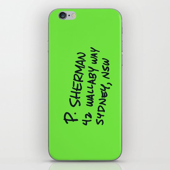 P. Sherman, 42 Wallaby Way iPhone & iPod Skin