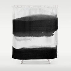 bw 03 Shower Curtain