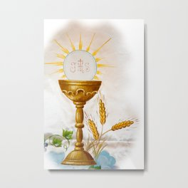 Holy communion Metal Print