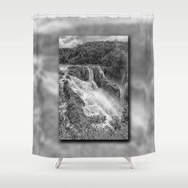 Stunning Barron Falls Shower Curtain