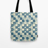 nautical Tote Bags featuring Nautical  by Julscela