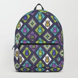 Scarabs Quilt Backpack