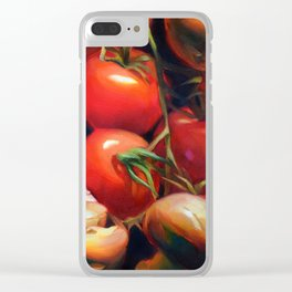 Tomato Demo Clear iPhone Case