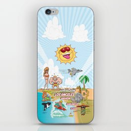 Southern California Beach Paradise iPhone Skin