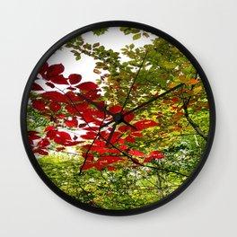 Autumn Trace Wall Clock