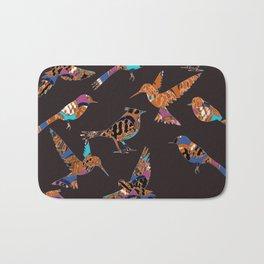 Batik birds Bath Mat