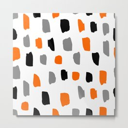 Abstract halloween Pattern Metal Print