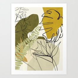 bungle jungle 2 Art Print