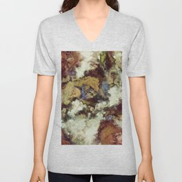 The old horse Unisex V-Neck