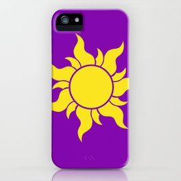 Rapunzel's Golden Sun iPhone Case