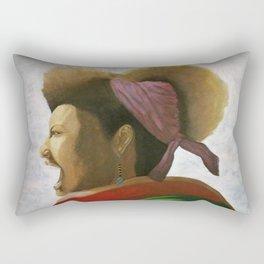 fierceness Rectangular Pillow