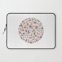 Deer Circle Laptop Sleeve
