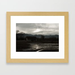 The Dark House Framed Art Print