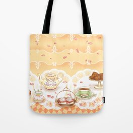 Dutch Tea Party Tote Bag