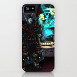At the Forge iPhone Case