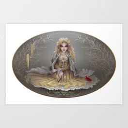 Your White Magic Art Print