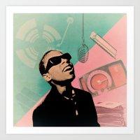 stevie nicks Art Prints featuring Stevie by Nope