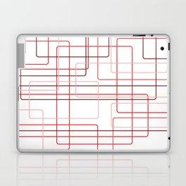 Red Cube Pattern Laptop & iPad Skin