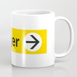 Frutiger arrow | W&L007 Coffee Mug