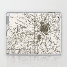 Dallas Map Laptop & iPad Skin