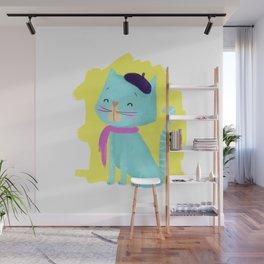 Pierre Cat Wall Mural