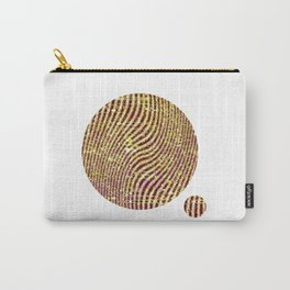 Warped glitter Carry-All Pouch
