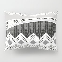 Layers of Culture - Decorative pattern based on the layers of soil Pillow Sham