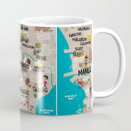 Metro Manila, Philippines Coffee Mug