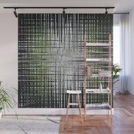 noir abstrait Wall Mural