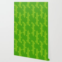 Evergreen Chinese Bamboos Wallpaper