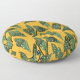 Begonia maculata pot watercolor Floor Pillow