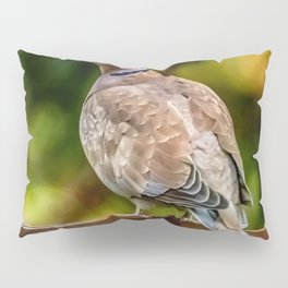 Collared Dove Pillow Sham