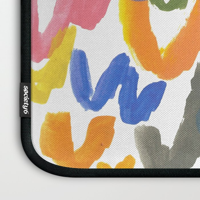 Abstract Letterforms 1 Laptop Sleeve