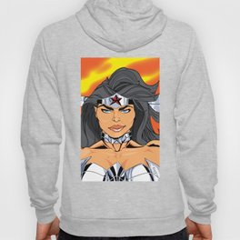 NEW 52! W. WOMAN READY FOR A FIGHT Hoody