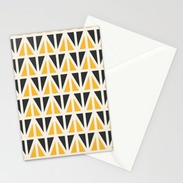 Sunny Triangles Stationery Cards