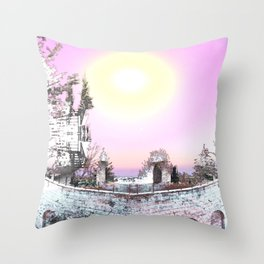 Fortress of Creation Throw Pillow