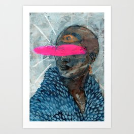 Eyewear Fashion of the Future Art Print