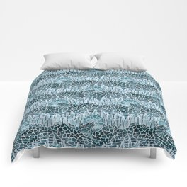 Moonlight Story (Platinum) Comforters