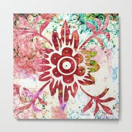 Pattern - Floral theme - 2 Metal Print