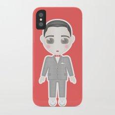 Pee-Wee Herman iPhone X Slim Case