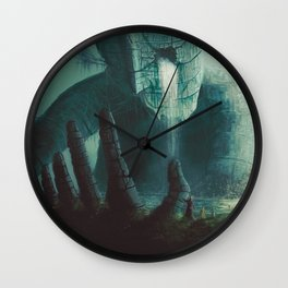 Erosion Wall Clock