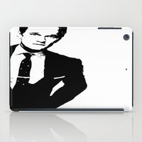 neil gaiman iPad Cases featuring Neil Patrick Harris (NPH) by Black And White Store