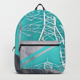 Powerlines in the Mountain Sky Backpack
