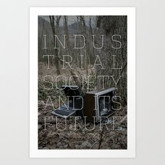 Technological Slavery Art Print